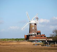 Cley windmill by TimLarge