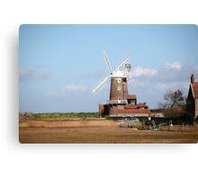 Cley windmill Canvas Print