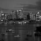 Sydney Skyline by Justine Chesterman