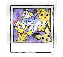 Pikachu Party Poster