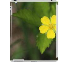 Yellow Wildflower iPad Case/Skin