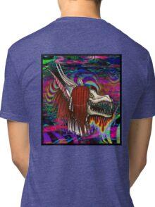 I Don't Like The Drugs But The Drugs Like Me (Hard Trip Version) Tri-blend T-Shirt
