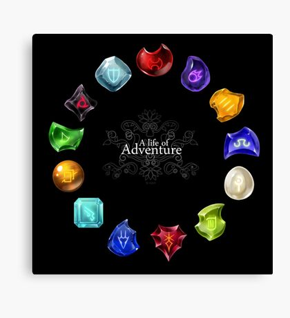 A Life of Adventure Canvas Print