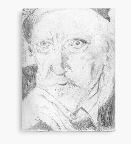 Augustus John/artist -(050811)- pencil/paper Canvas Print