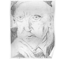 Augustus John/artist -(050811)- pencil/paper Poster