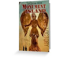 BioShock Infinite – Souvenir from Monument Island Greeting Card