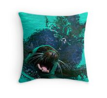 Catching my Breath Throw Pillow