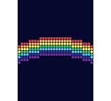 Retro Rainbow Photographic Print