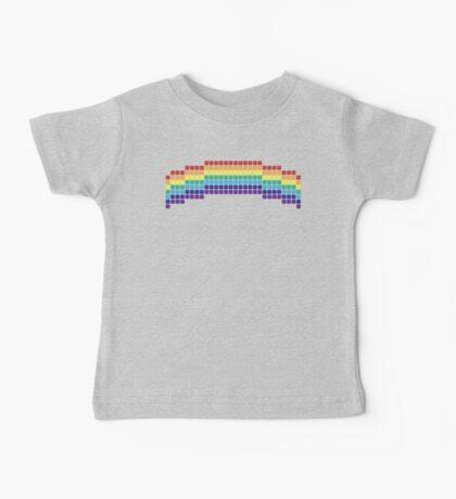 Retro Rainbow Baby Tee