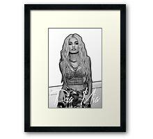 Pia Mia Framed Print