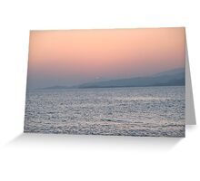 Dunmanus Bay Sunrise Sunset in Ireland 52 Greeting Card