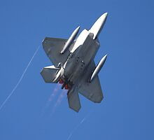 F-22 Raptor Climb by Stephen Titow