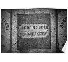 He Being Dead Yet Speaketh Poster