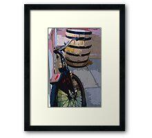 Drunken Bike Framed Print