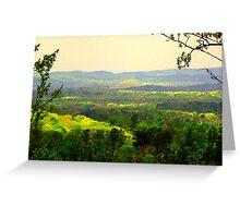 Rainbow Mountains Greeting Card