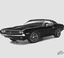 Dodge Challenger 1971 by Chris-Cox