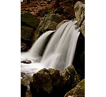 small town water fall  Photographic Print