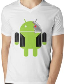 D-800 Mens V-Neck T-Shirt