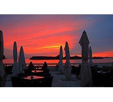 Dubrovnik Sunset Photographic Print