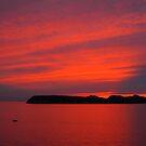 Croatian Sunset by Honor Kyne