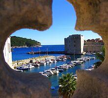 Old Town - Dubrovnik by Honor Kyne