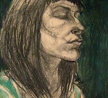 self portrait  by Natasa Ristic