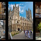Canterbury Cathedral Collage by DonDavisUK