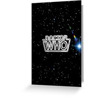 Doctor Who - 1980 Greeting Card
