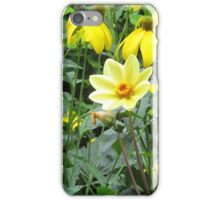 Yellow beauty in summer iPhone Case/Skin