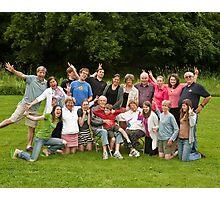 Hardman Family - Goofy Photographic Print