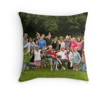 Hardman Family - Goofy Throw Pillow