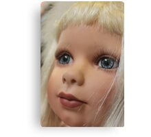 What a pretty doll...... Canvas Print