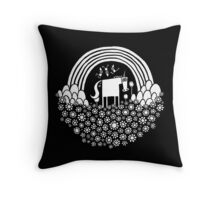 Magic Super Fun Time Land Throw Pillow