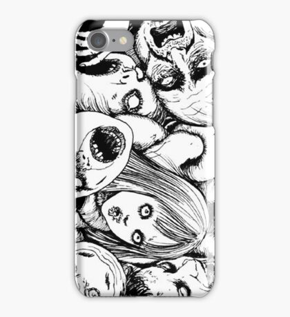 Stuck in the Crowd iPhone Case/Skin