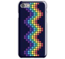 Retro Rainbow - Wave iPhone Case/Skin