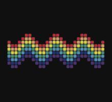 Retro Rainbow - Wave Kids Clothes