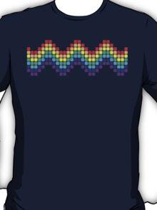 Retro Rainbow - Wave T-Shirt