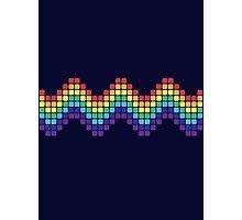 Retro Rainbow - Wave Photographic Print