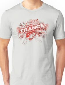 Trance – Electronic Dance Music - Red Unisex T-Shirt