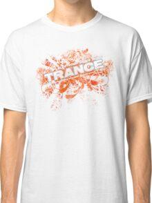 Trance – Electronic Dance Music - Orange Classic T-Shirt