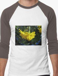 Nodding Daffodils Men's Baseball ¾ T-Shirt