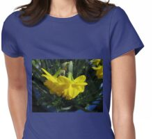 Nodding Daffodils Womens Fitted T-Shirt