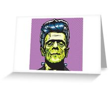 Frankenstien Greeting Card