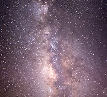 Milky Way Over Fajada Butte by james smith