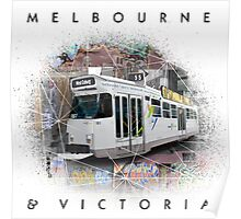 Melbourne Street View Poster