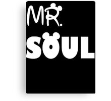 Mr Soul Canvas Print