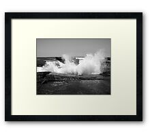 Breaking Silence Framed Print