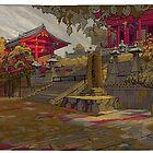Kyoto Autumn by David  Kennett