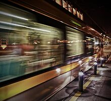 Full speed to the next station by Nuno Matos