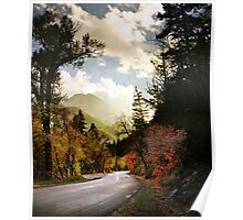 American Fork Canyon - Road Poster